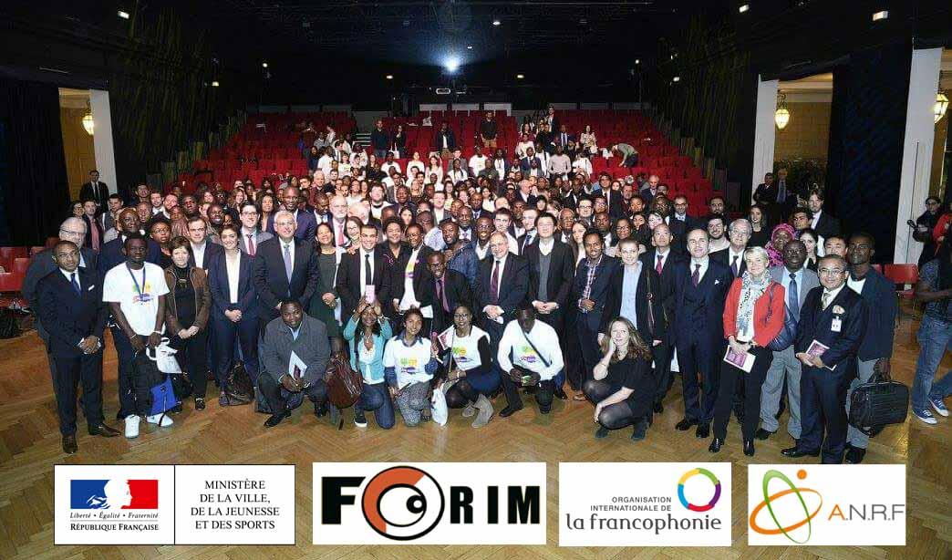 Conférence internationale des jeunes francophones - Paris 2016